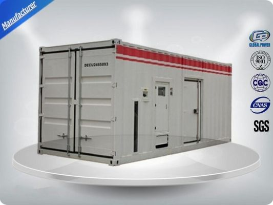 Container type Cummins diesel genset power with prime power 900 kw