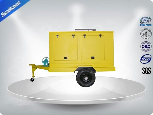 ประเทศจีน 12 Cylinder 75dB quietest Trailer Mounted Generator large in - line Config with Dry oil filter ผู้จัดจำหน่าย