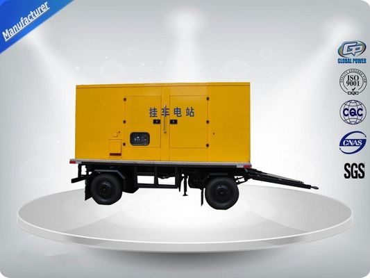 ประเทศจีน 750Kva 50 Hz 3 Phase Silent Trailer Mounted Generator With Mecc - Alte Alternator ผู้จัดจำหน่าย